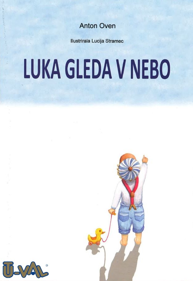 Picture book Luka is looking at the sky